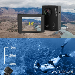 2k Helmet Waterproof sports camera SJ4000