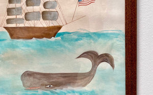 Whale Watercolor Painting III