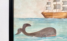 Load image into Gallery viewer, Whale Watercolor Painting V