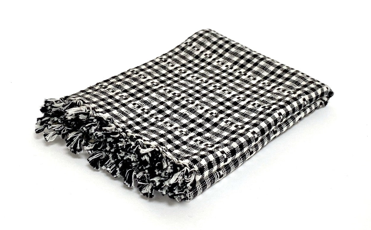Soho Black Hand Towel