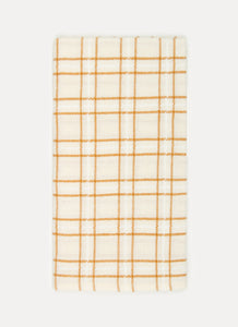 Open Plaid in Goldenrod Napkins - Westward Home