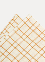 Load image into Gallery viewer, Open Plaid in Goldenrod Napkins - Westward Home