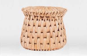 Woven Palm Stool