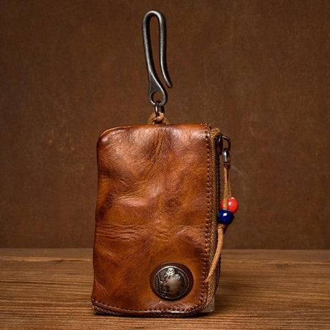 Small Coin Bag Card Holder Car Key Wallet