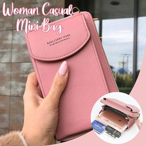 Woman Casual Mini Crossbody Bag