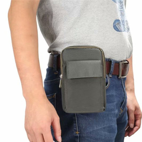 Men's Universal Outdoor Sports Belt Clip Holster Wallet