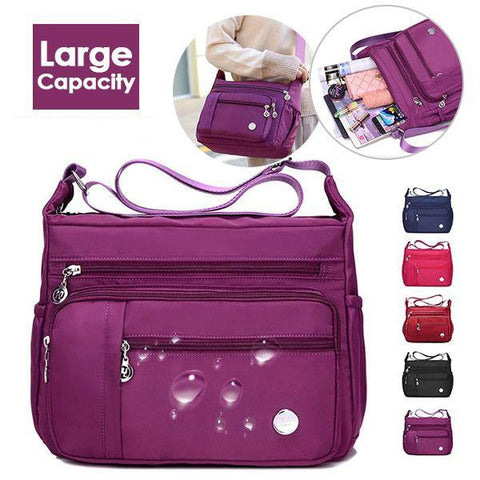 Women Waterproof Light Shoulder Crossbody Bags