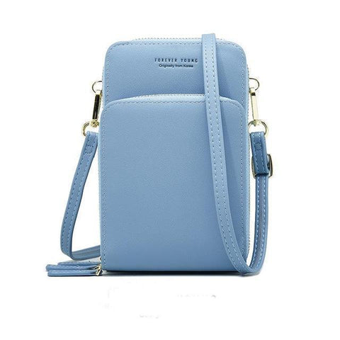 Large Capacity Multi-Pocket Crossbody Cell Phone Bag