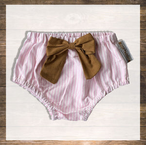 bloomer-pink stripes-hong kong-baby-hamper-gift-baby-clothes-Pantie-Diaper-cover