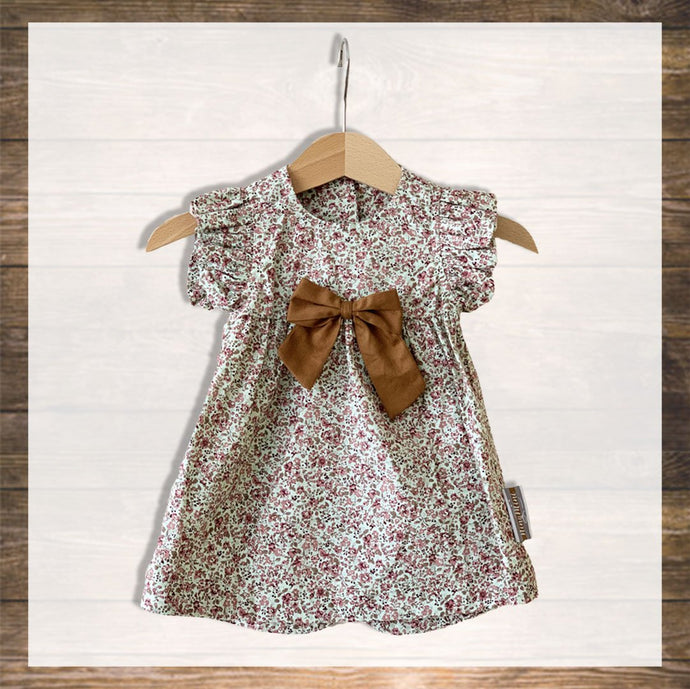 Baby Girl Dress Pretty Stylish Baby Clothes Hong Kong NinyMini pink flower