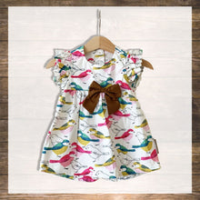 Load image into Gallery viewer, Baby Girl Dress Pretty Stylish Baby Clothes Hong Kong NinyMini Tropical Bird