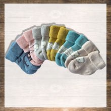Load image into Gallery viewer, Baby Socks Set of 6 Cat design Super Soft NinyMini Hong Kong