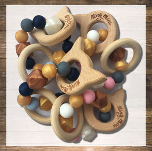 Baby Teether for Boy Natural Wood and Safe Silicone Hong Kong NinyMini.jpg