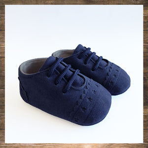 SHOES Moccs Dark Blue