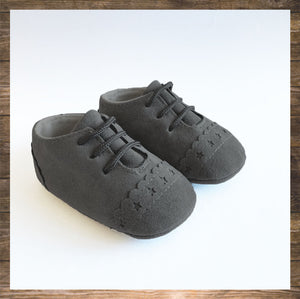 SHOES Moccs Grey