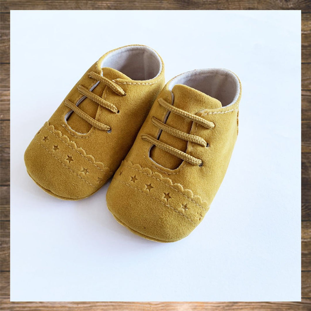 Mustard Yellow Baby Shoes Moccs Pretty Stylish Hong Kong Ninymini
