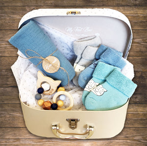 Personalized Baby Hamper Gift Suitcase for Baby Boy and Girl Hong Kong NinyMini