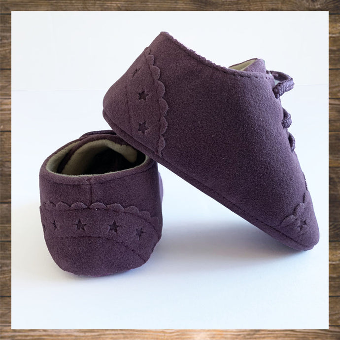 Purple Baby Shoes Moccs Pretty Stylish Hong Kong Ninymini