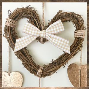 NURSERY ROOM Rattan heart