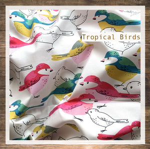 DRESS STRAP Tropical Bird
