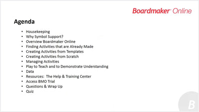 Getting to know boardmaker online