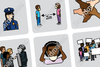 Additional Social Distancing, Mask and Diversity Symbols - PCS Update