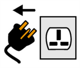 Symbol for unplug
