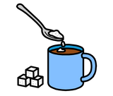 Symbol for add sugar