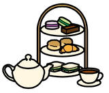 Symbol for afternoon tea