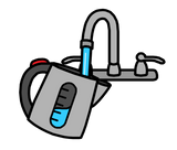Symbol for fill kettle