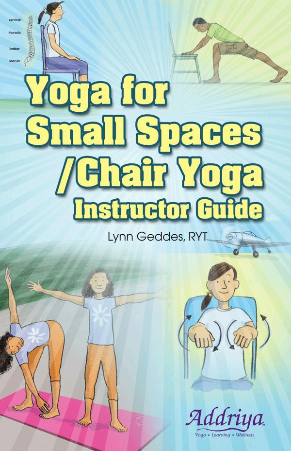 Yoga For Small Spaces Chair Yoga Instructor Guide Boardmaker