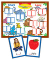 Super Duper® MagneTalk Short and Long Vowels Magnetic Board Game