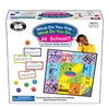Super Duper® 204 What Do You Say...What Do You Do at School? Board Game
