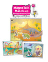 Super Duper® MagneTalk Match-up Fantasy Story Adventures Magnetic Barrier Game