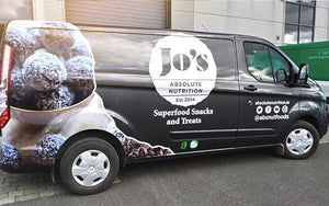 Our Absolute Nutrition van custom wrapped
