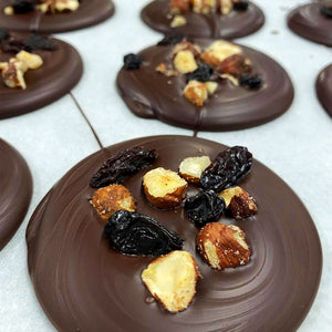 Fruit & Nut Dark Chocolate Vegan Florentine's