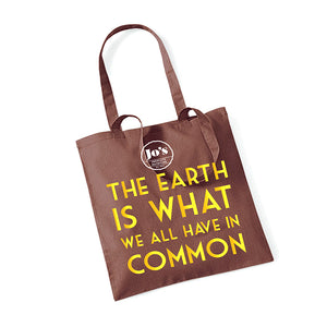 Absolute Nutrition 'The Earth' Tote Bag