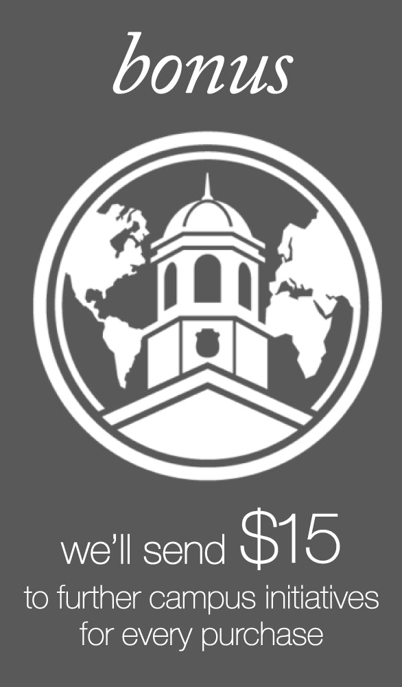 Eyes of Faith will Donate 15 dollars to further campus initiatives for every purchase