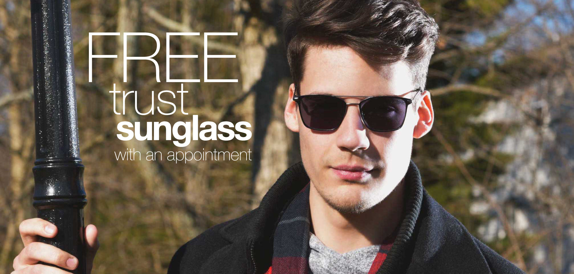 Request Your Free Trust Sunglass