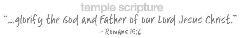 ...glorify the God and Father of our Lord Jesus Christ.