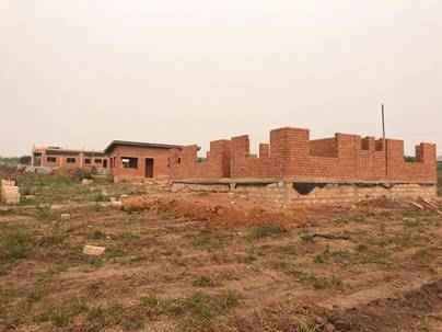 EOF Purchases support home building at Delilah's Point Hope Village in Ghana, West Africa