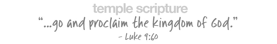...go and proclaim the kingdom of God. - Luke 9:60