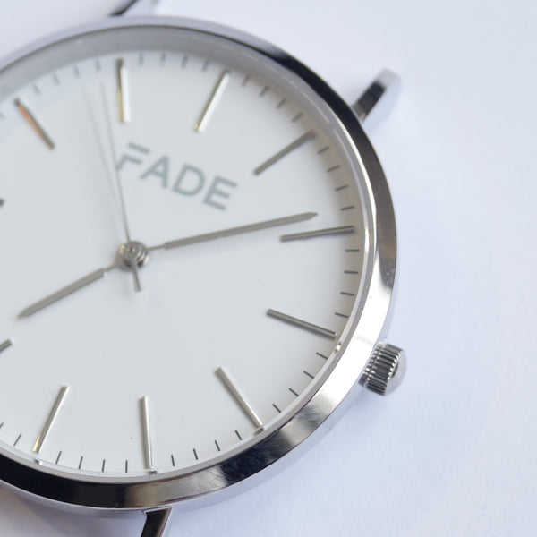 Silver star watch fade watches