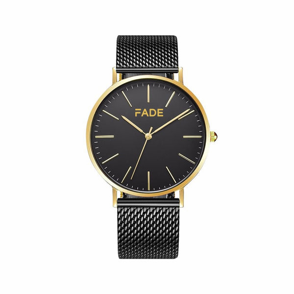 Gilded midnight watch fade watches