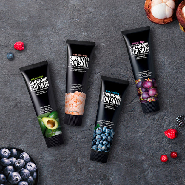 Super Food For Skin | Hand Cream, 4 different selections