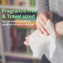 Load image into Gallery viewer, Pullio Peppermint Alcohol Free Hand Sanitizing Wipes 20 Wet Wipes | Bulk Offer