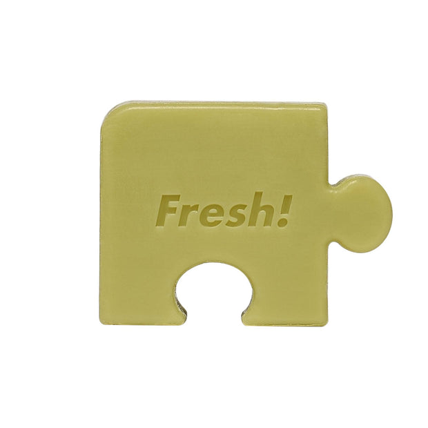 Fresh Food For Skin | Avocado Smoothing Puzzle Soap