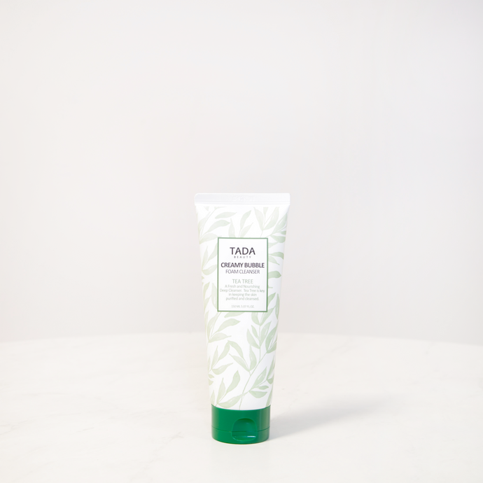 TADA Beauty | Tea Tree Creamy Bubble Foam Cleanser