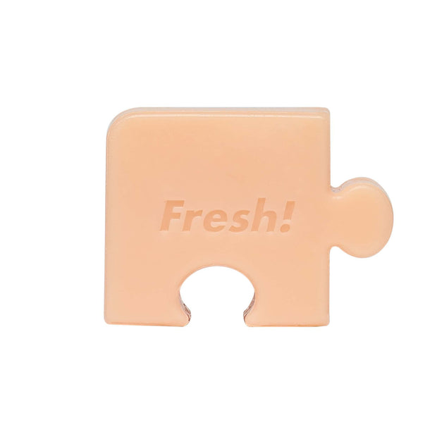 Fresh Food For Skin | Carrot Pore-Care Puzzle Soap
