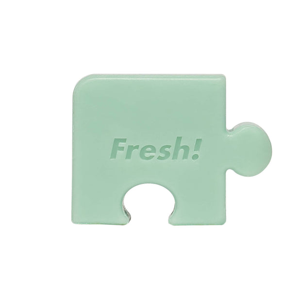 Fresh Food For Skin | Cucumber Soothing Puzzle Soap